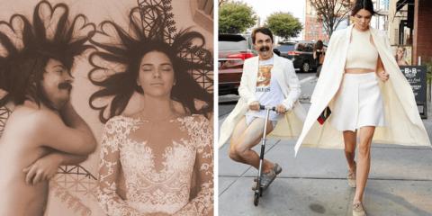 Homem utiliza Photoshop para aparecer nas fotos de Kendall Jenner