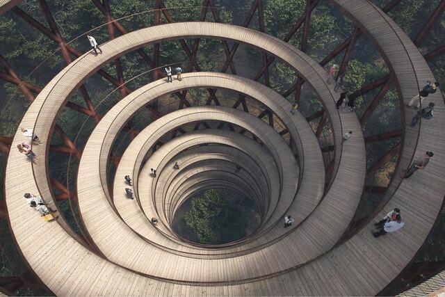 Passarela Torre Espiral (8)