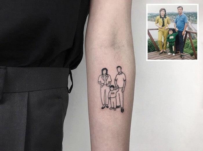 Tatuagem Minimalista (13)