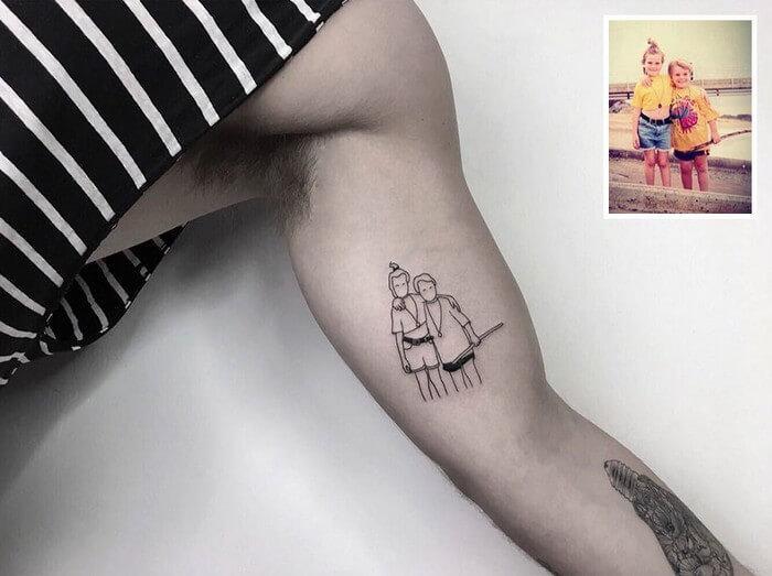 Tatuagem Minimalista (7)