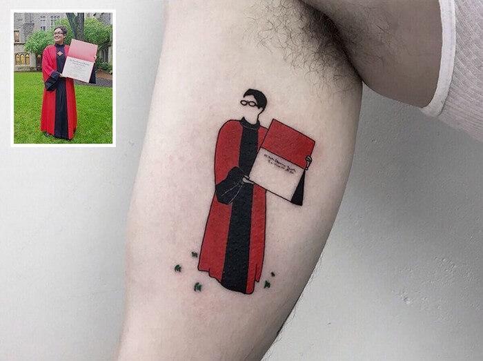Tatuagem Minimalista (8)