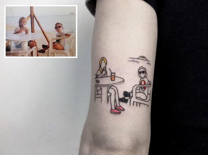 Tatuagem Minimalista (9)