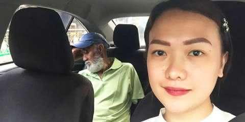 Ela trocou de lugar com o taxista exausto e deu uma lição de amor ao próximo