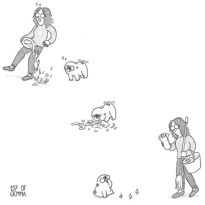 Tirinhas Cão Pug (18)