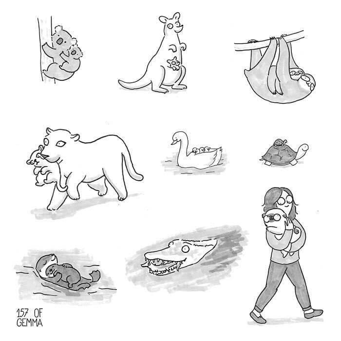 Tirinhas Cão Pug (8)