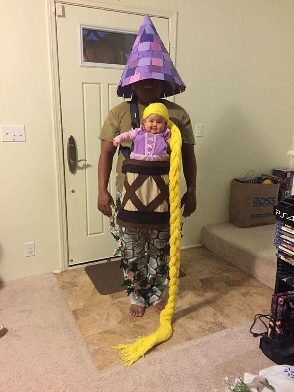 Bebês em fantasias de Halloween 1