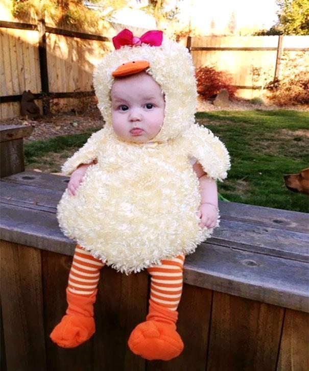 Bebês em fantasias de Halloween 6