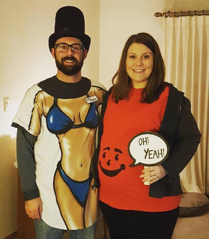 Mulheres grávidas em suas fantasias de Halloween 13
