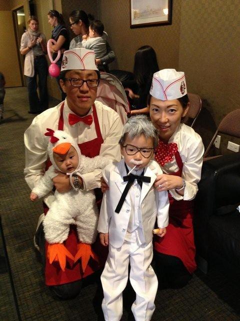 Fantasias épicas de Halloween em família 1