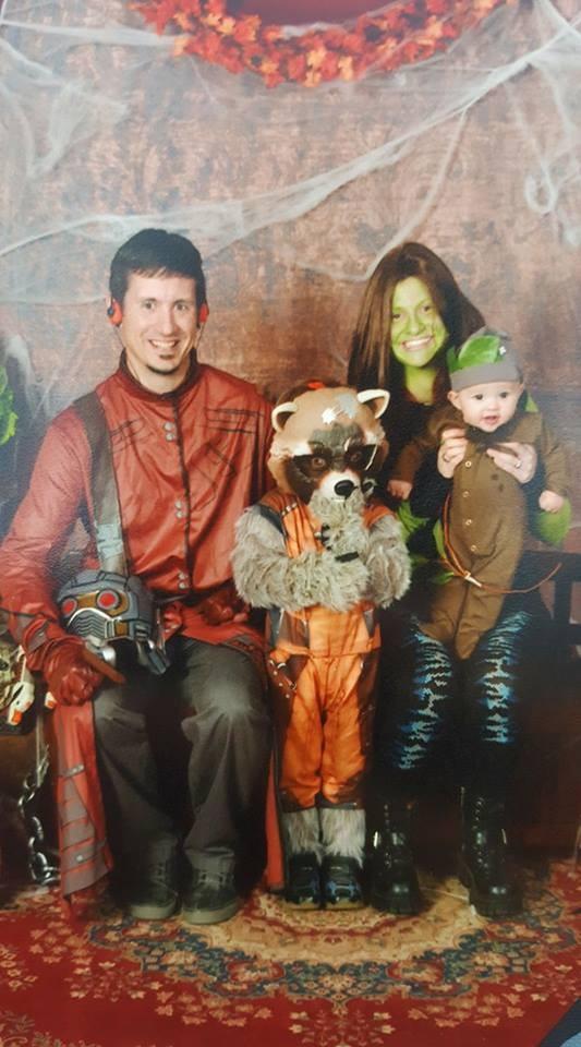 Fantasias épicas de Halloween em família 10