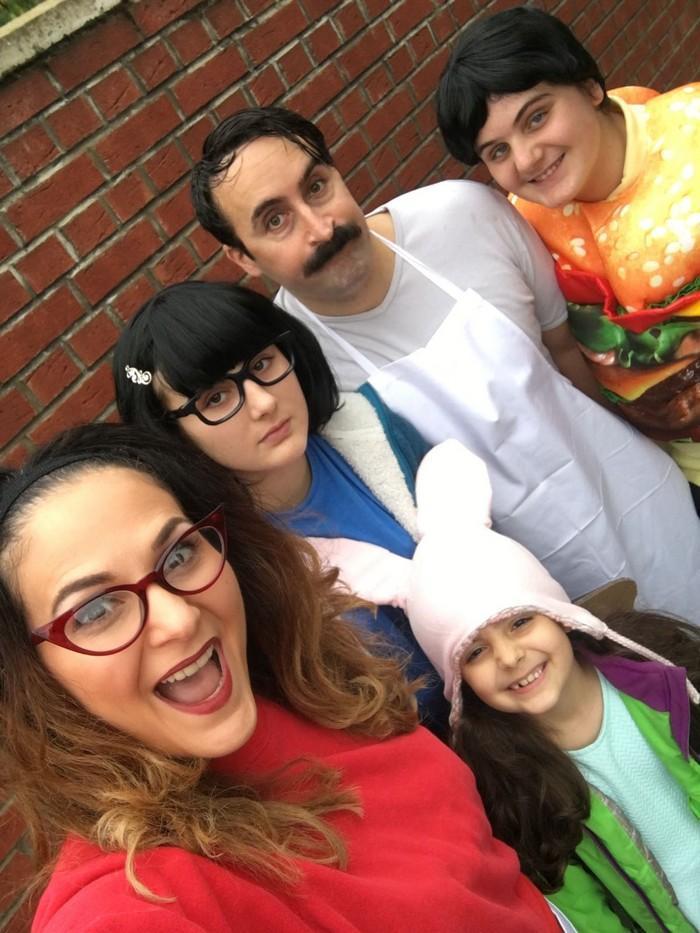 Fantasias épicas de Halloween em família 12