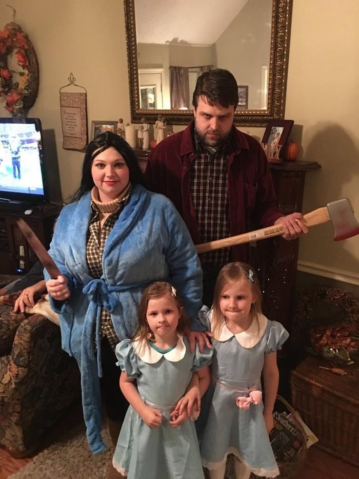 Fantasias épicas de Halloween em família 13