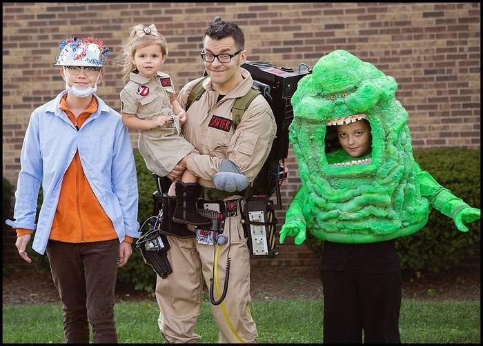 Fantasias épicas de Halloween em família 14