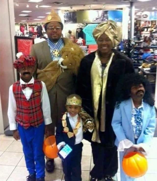 Fantasias épicas de Halloween em família 16