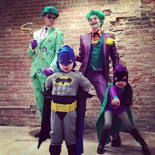 Fantasias épicas de Halloween em família 17