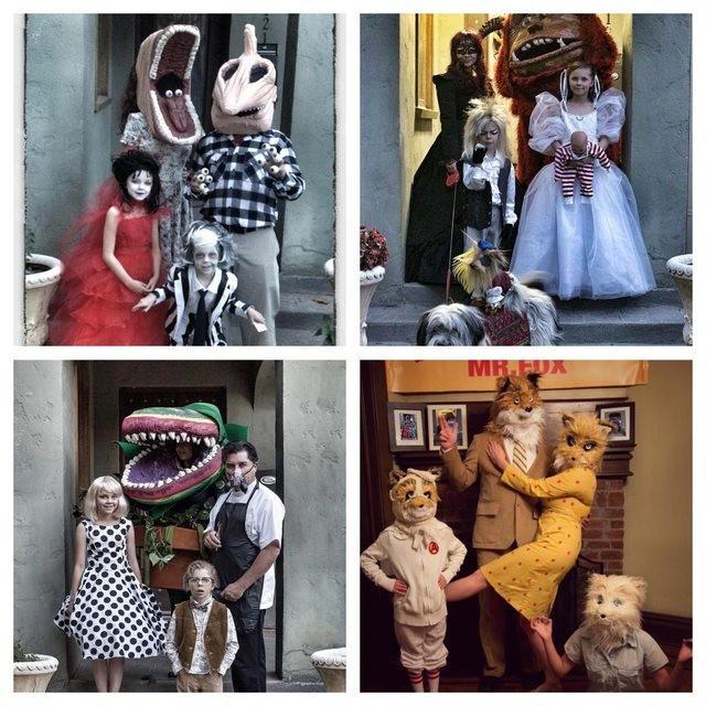 Fantasias épicas de Halloween em família 18