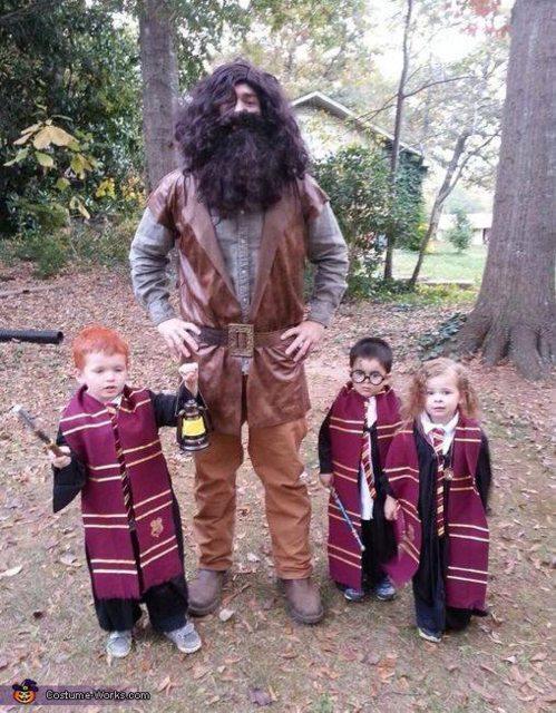 Fantasias épicas de Halloween em família 19