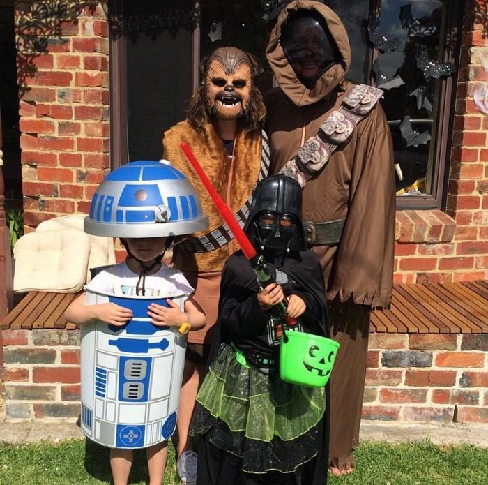 Fantasias épicas de Halloween em família 2