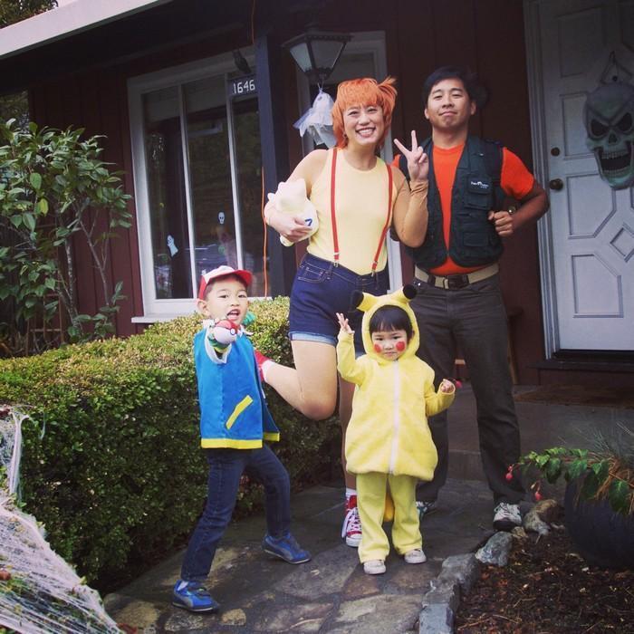 Fantasias épicas de Halloween em família 20