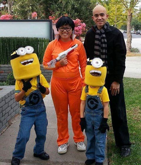 Fantasias épicas de Halloween em família 5