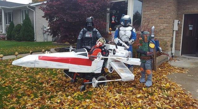 Fantasias épicas de Halloween em família 6