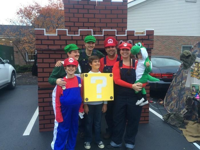 Fantasias épicas de Halloween em família 7