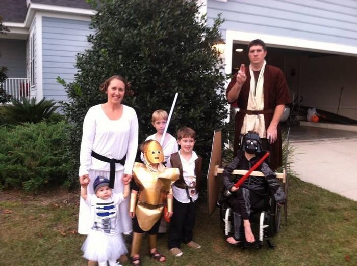 Fantasias épicas de Halloween em família 8