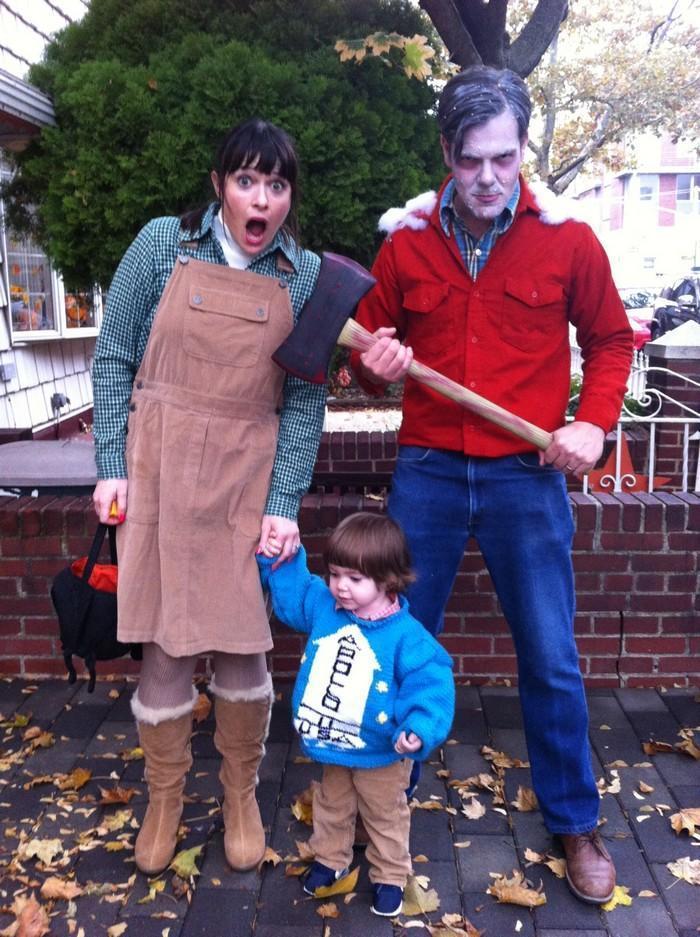Fantasias épicas de Halloween em família 9