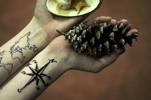 Ideias de tatuagens para quem ama viajar 1