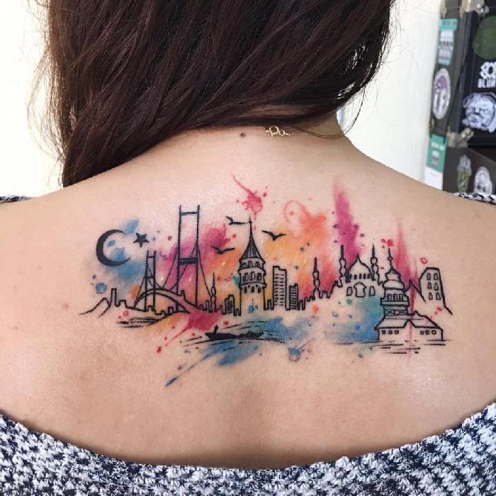 Ideias de tatuagens para quem ama viajar 12