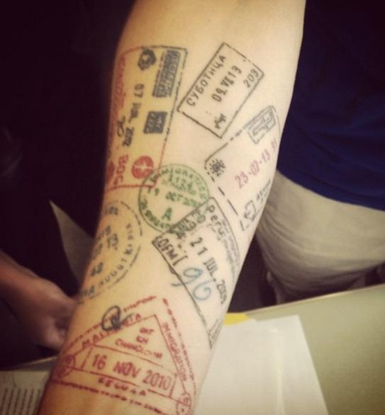 Ideias de tatuagens para quem ama viajar 5
