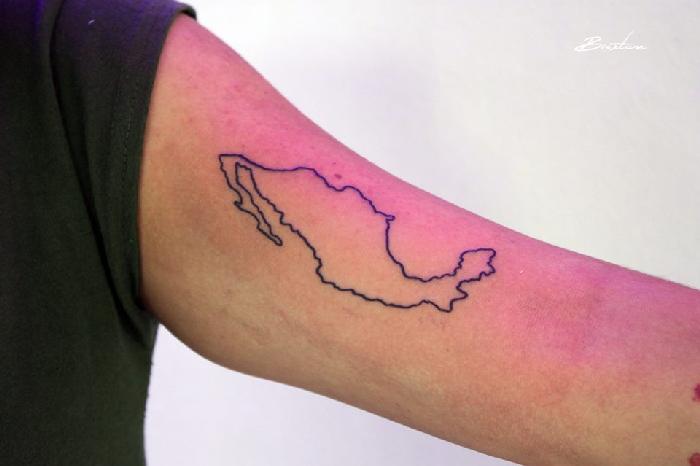 Ideias de tatuagens para quem ama viajar 7