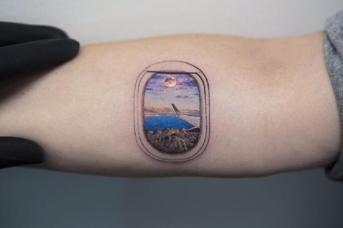 Ideias de tatuagens para quem ama viajar 9