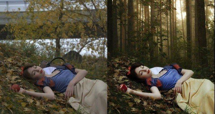 fotos antes depois photoshop 1