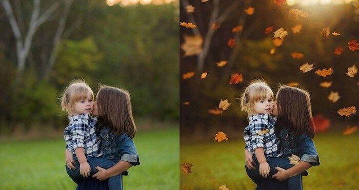fotos antes depois photoshop 21