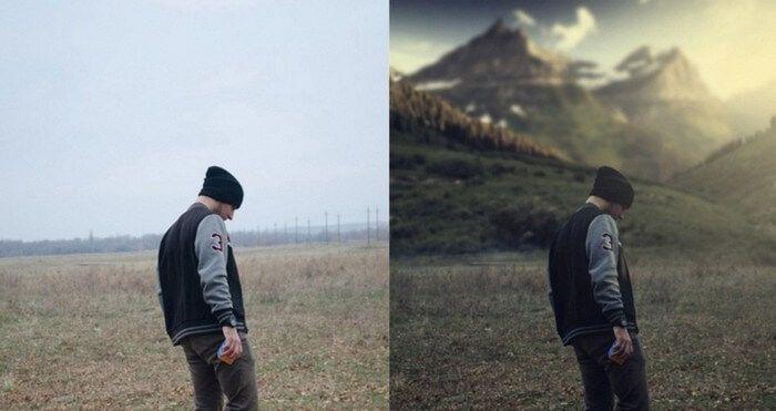 fotos antes depois photoshop 22