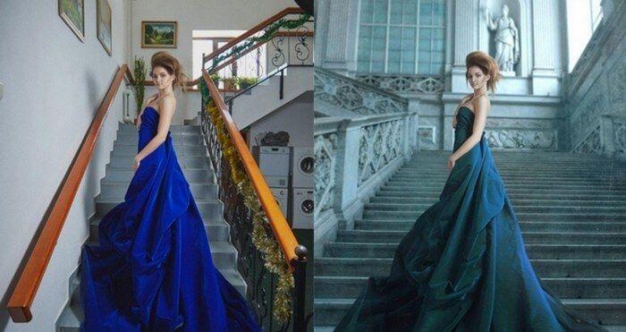 fotos antes depois photoshop 24