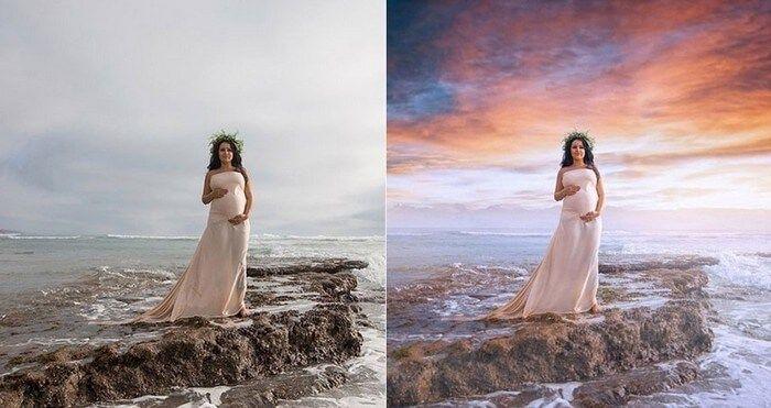 fotos antes depois photoshop 4