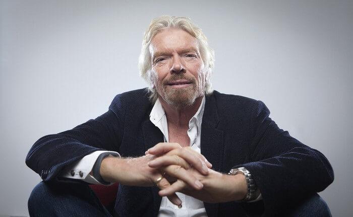 Empreendedores Bitcoin (Richard Branson)