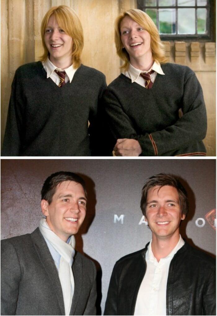 Atores Harry Potter Antes e Depois (10)