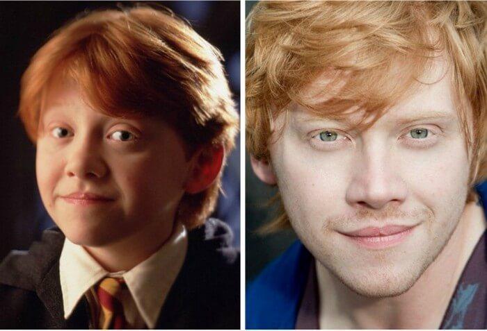 Atores Harry Potter Antes e Depois (3)