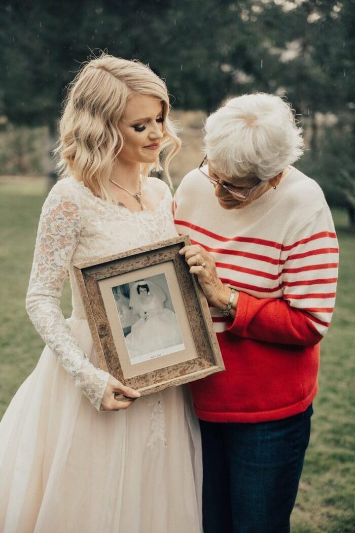Noiva faz surpresa para avó (2)