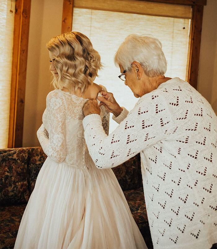 Noiva faz surpresa para avó (9)