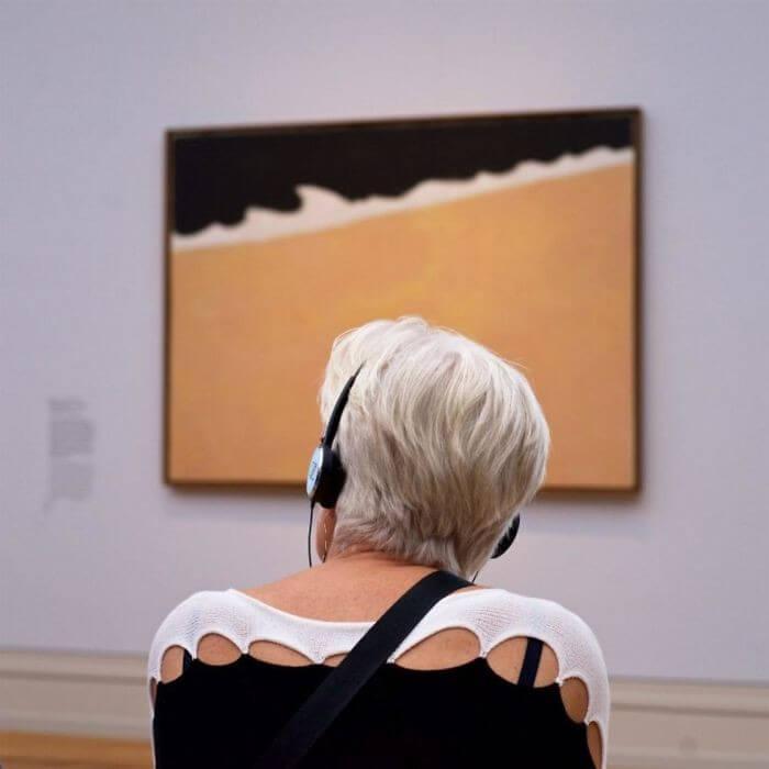 Pessoas combinam quadro museu (4)