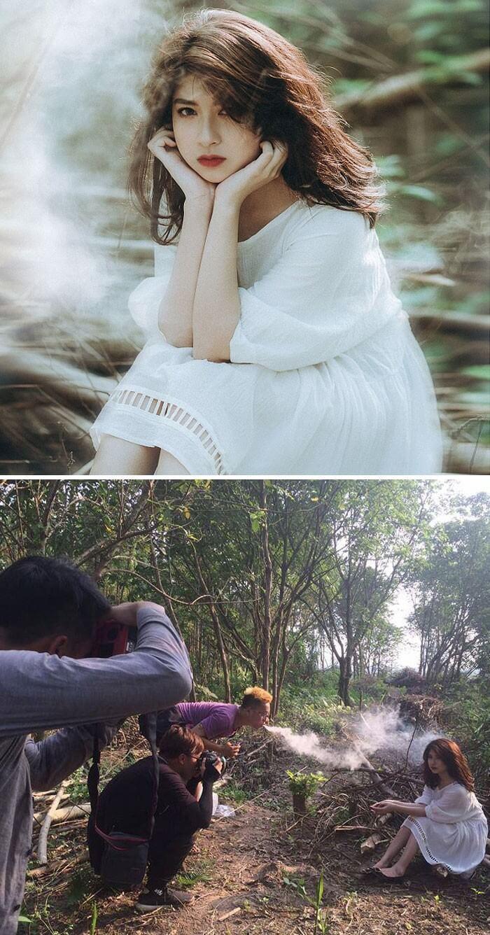 Realidade por trás das fotografias (1)