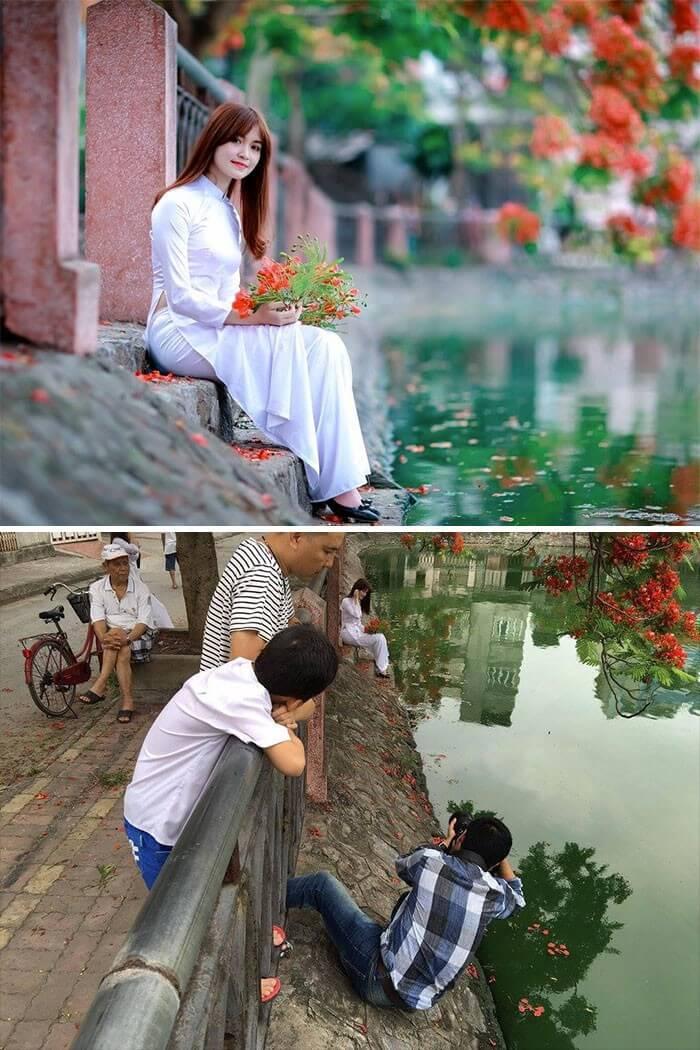 Realidade por trás das fotografias (2)