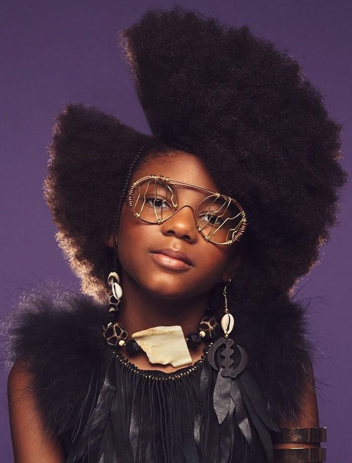 Ensaio fotográfico para ressaltar a beleza do cabelo afro 11