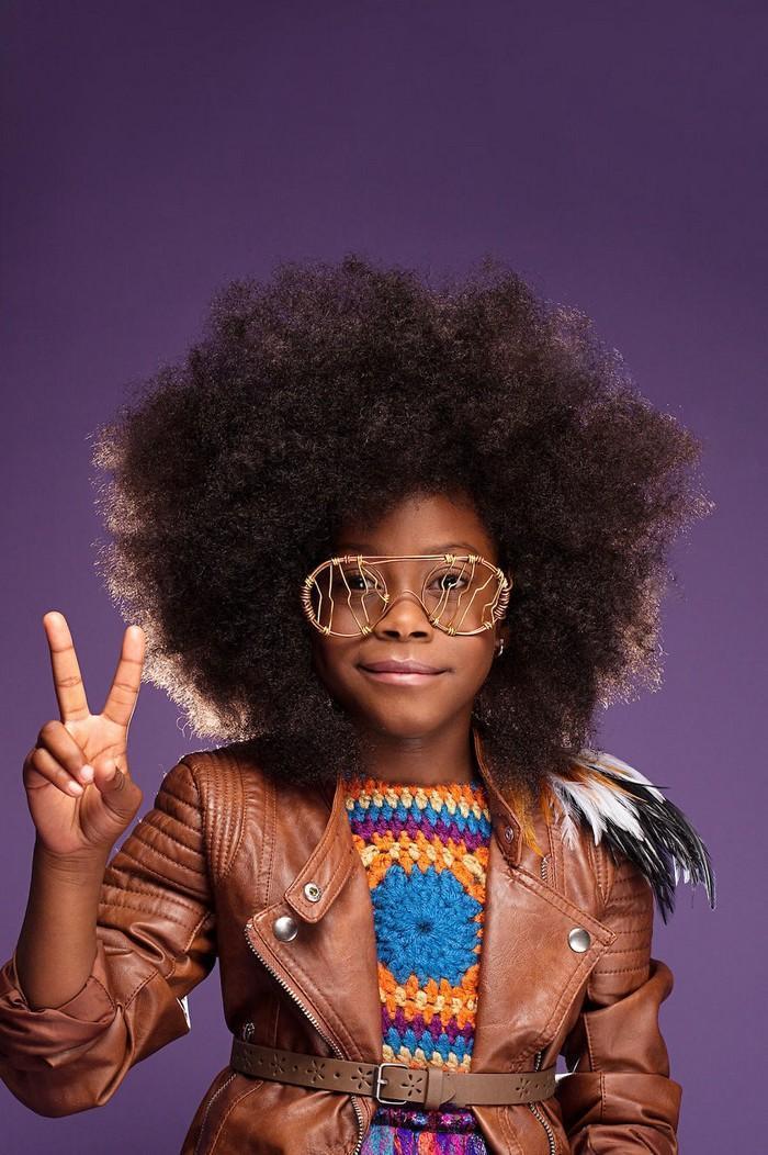 Ensaio fotográfico para ressaltar a beleza do cabelo afro 12