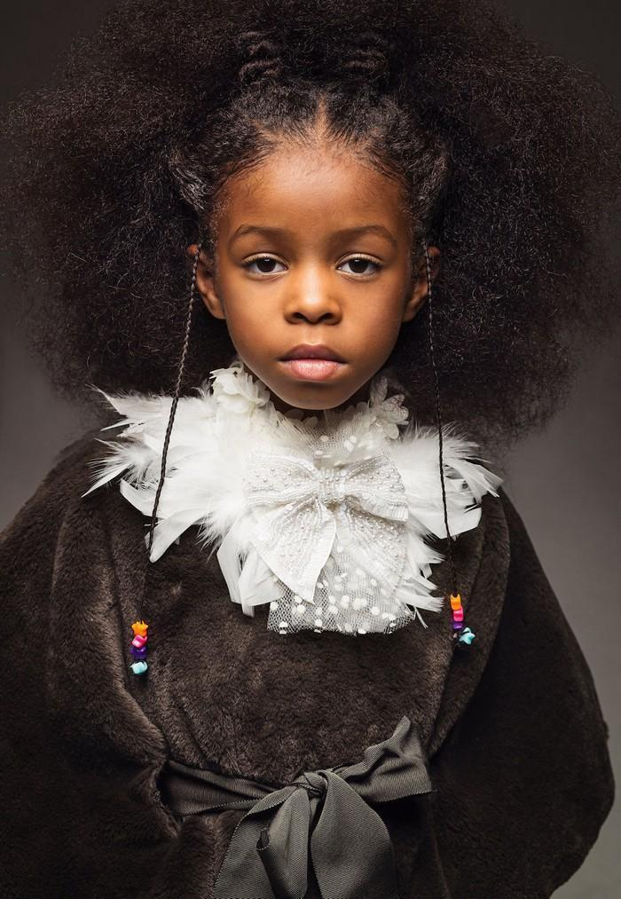 Ensaio fotográfico para ressaltar a beleza do cabelo afro 4