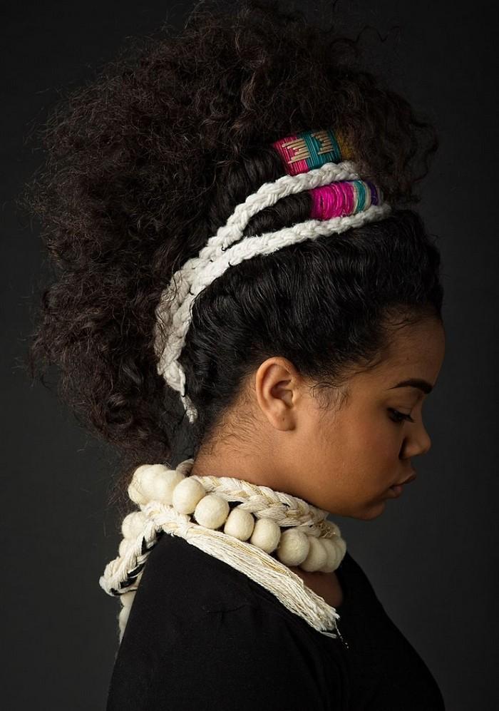Ensaio fotográfico para ressaltar a beleza do cabelo afro 6
